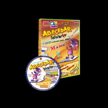 Abecedar interactiv - Lectii multimedia pentru clasa I. Partea I (CD-ROM)