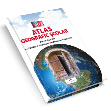Atlas geografic scolar. Planse didactice