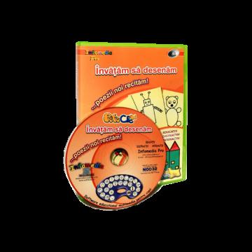 Piticlic - Invatam sa desenam, poezii noi recitam (CD-ROM) 3-7 ani
