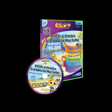 PitiClic si Emotica in gradina lui Mos Suflet (CD-ROM) 3-7 ani