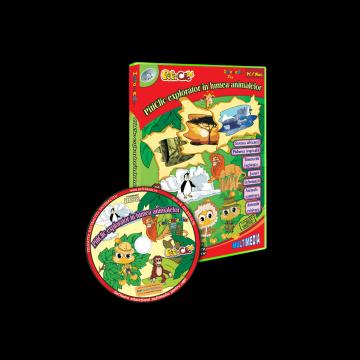 PitiClic explorator in lumea animalelor (CD-ROM) 3-7 ani
