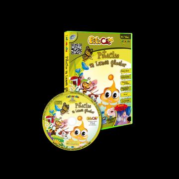 PitiClic In lumea gâzelor (CD-ROM) 3-7 ani