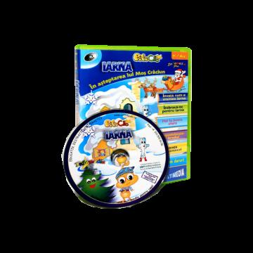 PitiClic - Iarna, in asteptarea lui Mos Craciun (CD-ROM) 3-7 ani