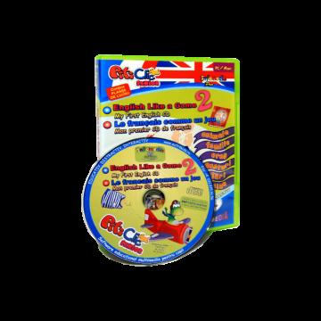 PitiClic Senior - Engleza si Franceza ca un joc / English Like a game / Le francais comme un jeu partea a II-a (CD-ROM)