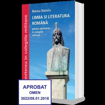 Limba si Literatura Romana,admitere in colegiile militare 2017 - Clasa a VIII-a