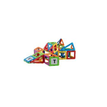 Magspace 102 Piese – Star Escort Set - Joc Magnetic Educativ de Constructie 3D