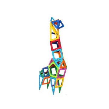 Magspace 64 Piese – Pet Spirit Set - Joc Magnetic Educativ de Constructie 3D