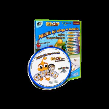 PitiClic îşi alege o meserie (CD-ROM) 3-7 ani