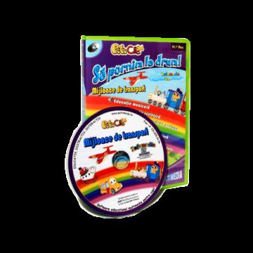 PitiClic -Mijloace de transport (CD-ROM) 3-7 ani