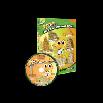 PitiClic Si cele 7 minuni ale lumii (CD-ROM) 3-7 ani