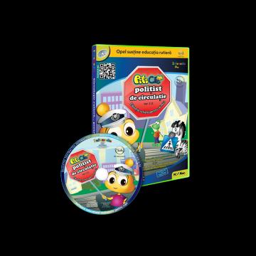 PitiClic - Circulatie rutiera... pentru cei mici Ver 2.0. (CD-ROM) 3-7 ani