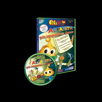 PitiClic  - Alfabetul prin integrame cu desene (CD-ROM) 3-7 ani