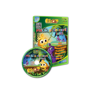 PitiClic si dinozaurii isteti (Misterele lui DinoClic) (CD-ROM) 3-7 ani