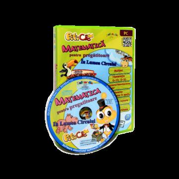 PitiClic - In lumea circului. Matematica pentru clasa pregatitoare (CD-ROM) 6 ani