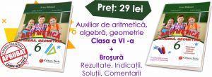 Aritmetica. Algebra. Geometrie Clasa a VI-a + Brosura Rezultate, indicatii, solutii (Taida)