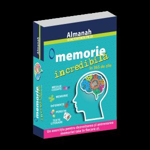 Almanah - O activitate pe zi: O memorie incredibila in 365 de zile (DPH)