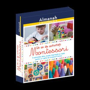 Almanah - O activitate pe zi: Un an de activitati Montessori (DPH)