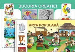 Arta populara, Bucuria creatiei; planse (Epigraf)