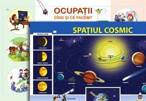 Spatiul cosmic si ocupatii; planse (Epigraf)