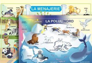 La menajerie, La Polul Nord; planse (Epigraf)