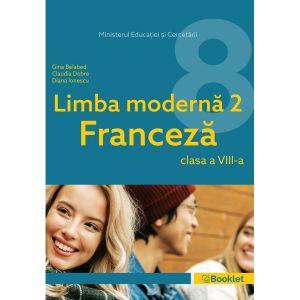 Manual Limba Moderna 2 Franceza – clasa a VIII-a (Booklet)