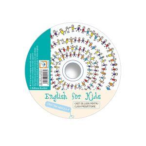 CD audio English for kids – clasa pregatitoare (Booklet)
