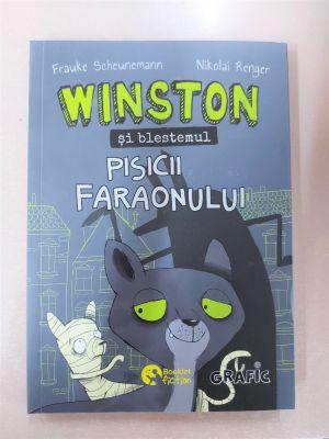 Winston 7- Blestemul pisicii faraonului (Booklet)
