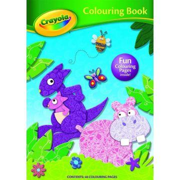 Crayola Colouring Book HIPPO, Carte de colorat (2969/CYCB4)