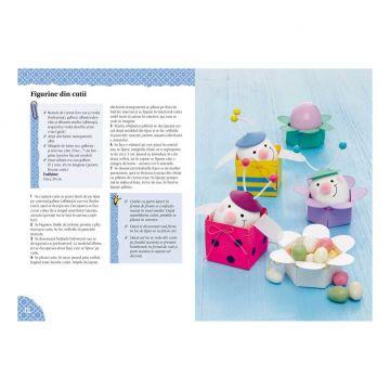 Ornamente hazlii de Paşti - Idei creative 108  (CASA)