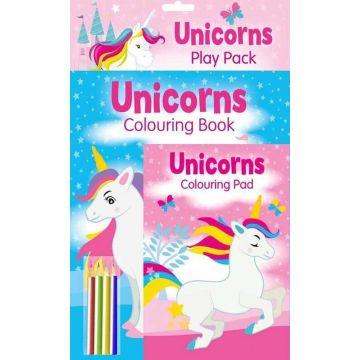 Unicorns Play Pack, kit de colorat (3050/UNPP)