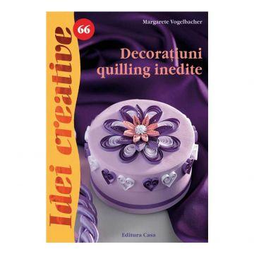 Decoraţiuni quilling inedite - Idei Creative 66 (Casa)