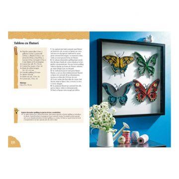 Quilling – decoraţiuni moderne - Idei creative 110 (CASA)