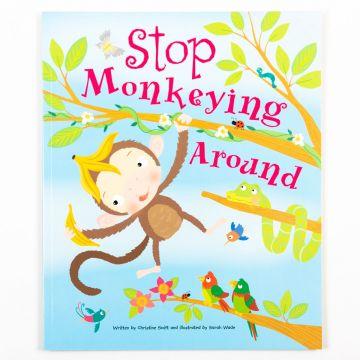 Picture Books - Stop Monkeying Around- carte de povesti in limba engleza (2472/SMPB)