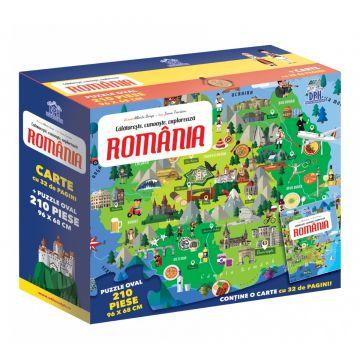 ROMANIA - CALATORESTE, INVATA, EXPLOREAZA (DPH)