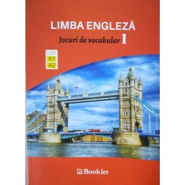 Limba Engleza – Jocuri de vocabular 1 A1-A2 (Booklet)