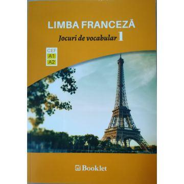Limba Franceza – Jocuri de vocabular 1 A1-A2 (Booklet)