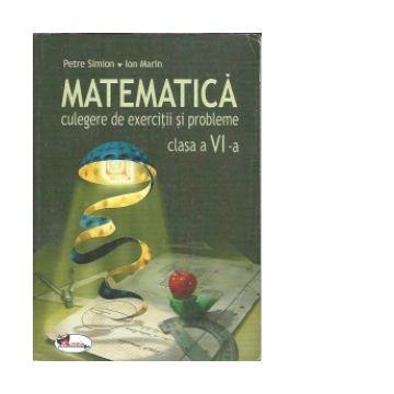 Matematica. Culegere de exercitii si probleme – clasa a VI-a (Aramis)