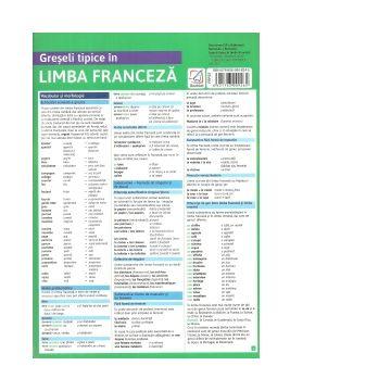 Pliant Greseli tipice in limba franceza (Booklet)
