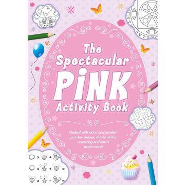 The Spectacular Pink Activity Book - Cartea roz cu activitati (3037/PIAB)