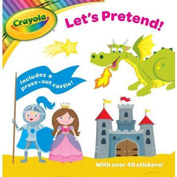 Crayola Activity Book (Let's Pretend), Carte cu autocolante si activitati (3111/CYLP)