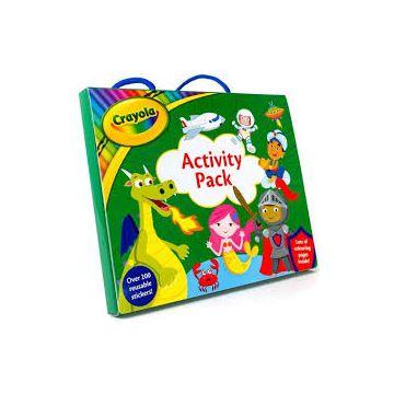 Crayola Shimmer Activity Pack - set de activitati (3125/CYSAP)
