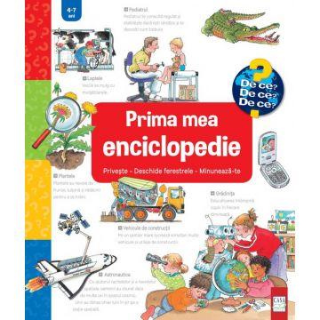 Prima mea enciclopedie: Privește - Deschide ferestrele - Minunează-te (Sigma)
