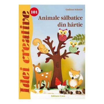 Animale sãlbatice din hârtie - Idei creative 101 (CASA)