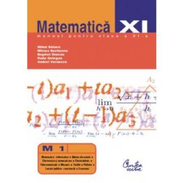 Matematica (M1). Manual pentru clasa a XI-a(Curtea veche)