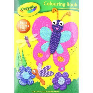 Crayola Colouring Book B/FLY, Carte de colorat (2904/CYCB1)