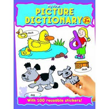 Picture Dictionary Sticker Book, Primul meu dictionar cu autocolante in limba engleza (3-5 ani) (326/PDSB)