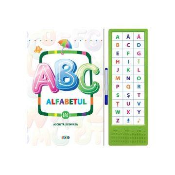 ABC. Alfabetul. Asculta si invata (Prut)