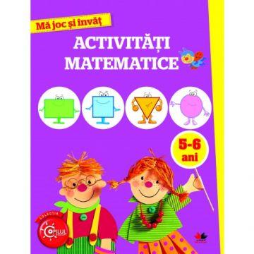 Mă joc și învăț. Activități matematice. 5-6 ani (Litera)