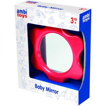 AMBI TOYS Oglinda floricica pentru bebelusi