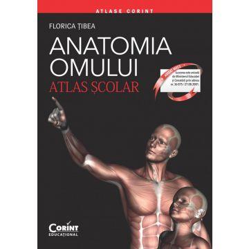Atlas scolar Anatomia omului 2017 - editie revizuita